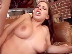 She likes to suck cock just as much as she likes to ride hard