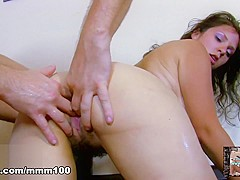 Nathalie Vanadis & Terry in A Sexy Surprise For The Boss  - MMM100
