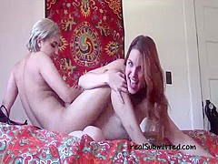 Redhead Girl Loves Having Lesbian Sex - SeeMyGF