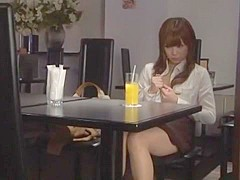Horny Japanese slut Riri Kuribayashi in Amazing Couple, Public JAV scene