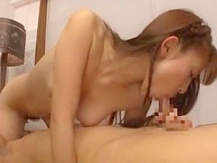 Incredible Japanese whore Maho Uruya in Crazy Small Tits, Cunnilingus JAV scene