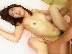 Irresistible Asian chick begs to ride a bulging beaver basher