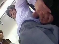 Hottest Japanese slut Nanaka Kyono, Yuuko Anzai, Natsumi Kato in Horny Public JAV scene