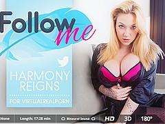 Harmony Reigns in Follow Me - VirtualRealPorn