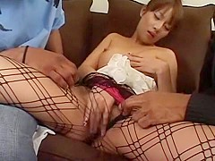 Horny Japanese slut Rino Konno in Best Masturbation, Interracial JAV video
