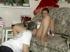 Toe sucked and pussy licked out making sexy wife orgasm