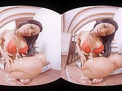 Kiki Minaj in Facesitting fun - VirtualRealPorn