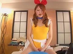 Incredible Japanese whore Akiho Yoshizawa in Crazy Footjob JAV video