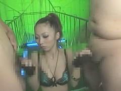 Fabulous Japanese slut Risa Chigasaki in Horny Fetish, Stockings JAV clip