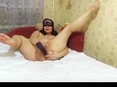 Mature milf anal fisting and anal play