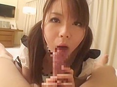 Best Japanese model Ai Naoshima in Incredible Stockings, POV JAV clip