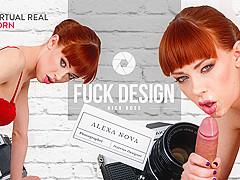 Alexa Nova & Nick Ross in Fuck design! - VirtualRealPorn