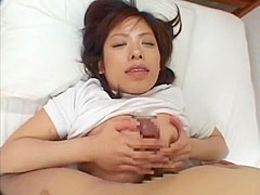 Crazy Japanese chick Yua Arima in Best POV, Handjob JAV video