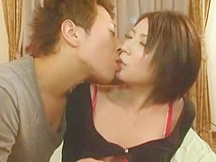 Horny Japanese chick Ryo Sena in Fabulous Small Tits, Cunnilingus JAV movie