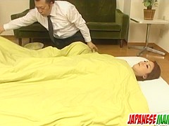 Rika Tamura adorable toy porn on cam in sloppy manners - More at Japanesemamas.com