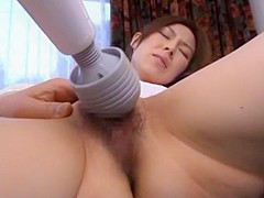 Hottest Japanese whore Natsuko Shinomiya in Incredible Wife, Toys JAV clip