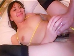 Hottest Japanese slut Ai Takeuchi in Best POV, Stockings JAV clip