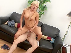 Crista Moore seduces a hung stud to take care of her sexual desires