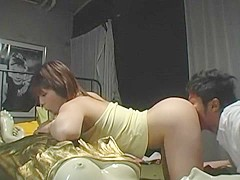 Fabulous Japanese whore Chinatsu Kinoshita in Crazy Masturbation, Rimming JAV video