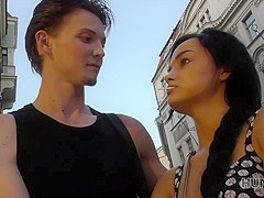 HUNT4K. Need for money motivates teen to cheat on her poor boyfriend