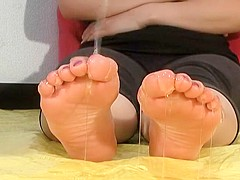 Japanese Ballerina Feet Volume Two: Ryoko - Messy Feet