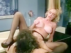 Vintage big titted blonde fucked in ass