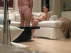 Couple Jerks Off Before Cumming