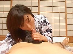 Crazy Japanese chick in Hottest Small Tits JAV movie