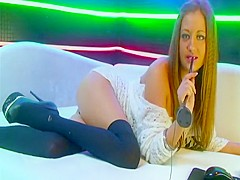Sexy and slutty Russian webcam girl (private show 01)