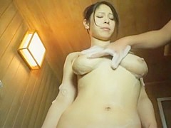 Hottest Japanese whore Minami Ayase in Horny Couple, Shower JAV clip