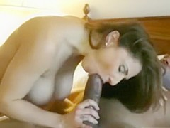 Big Tits Milf Interracial With Cumshot