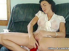 Livecam Wet See Through Blouse And Dp - KinkyFrenchies