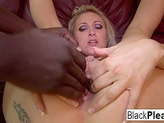Angel Long in Blonde Babe Angel Long Takes A Long Black Dick In Her Ass - BlackPlease