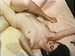 Lesbian Peepshow Loops 628 50's and 60's - Scene 4