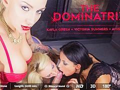 Anissa Kate  Juan Lucho  Kayla Green  Victoria Summers in The Dominatrix - VirtualRealPorn
