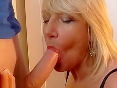 British milf and her younger...
