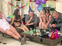 New Years Eve sex party episode 2
