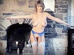 SPIRIT OF THE NIGHT -  huge bouncy tits strip dance tease