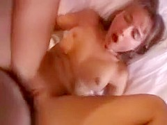 Fresh Chick Slammed in Her Tight Pussy