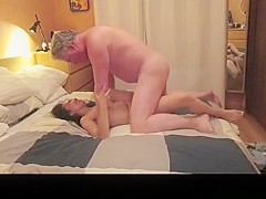 Horny homemade closeup, wife, thong xxx clip