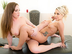 Maddy O'Reilly & Carmen Caliente in Teacher's Tramp, Scene #01 - AllGirlMassage
