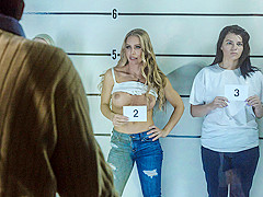 Nicole Aniston & Johnny Sins in Lined Up And Laid Out - BrazzersNetwork