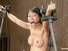 Tia Ling in Tia Ling Can orgasms be a form of torture?Short answer is YES! - DeviceBondage