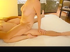 Crazy private sofa, riding, firm booty sex clip