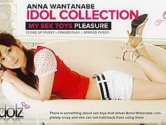 Delightful Anna Watanabe Has A Thing For Sex Toys - Avidolz