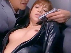 Fabulous Japanese model Shelly Fujii in Exotic Lesbian, Secretary JAV scene