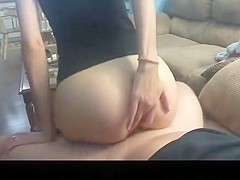Hottest homemade perfect ass, reversed cowgirl, riding porn video