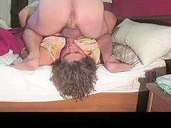 Hottest homemade deepthroat, riding, blowjob sex scene