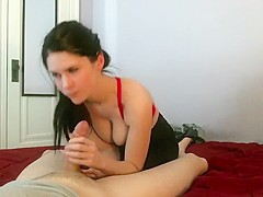 Tantric Sex and a Cumshot on Tits