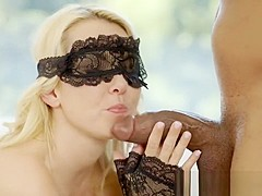 Pretty Blonde Hotwife Aaliyah Love and Her Black Lover